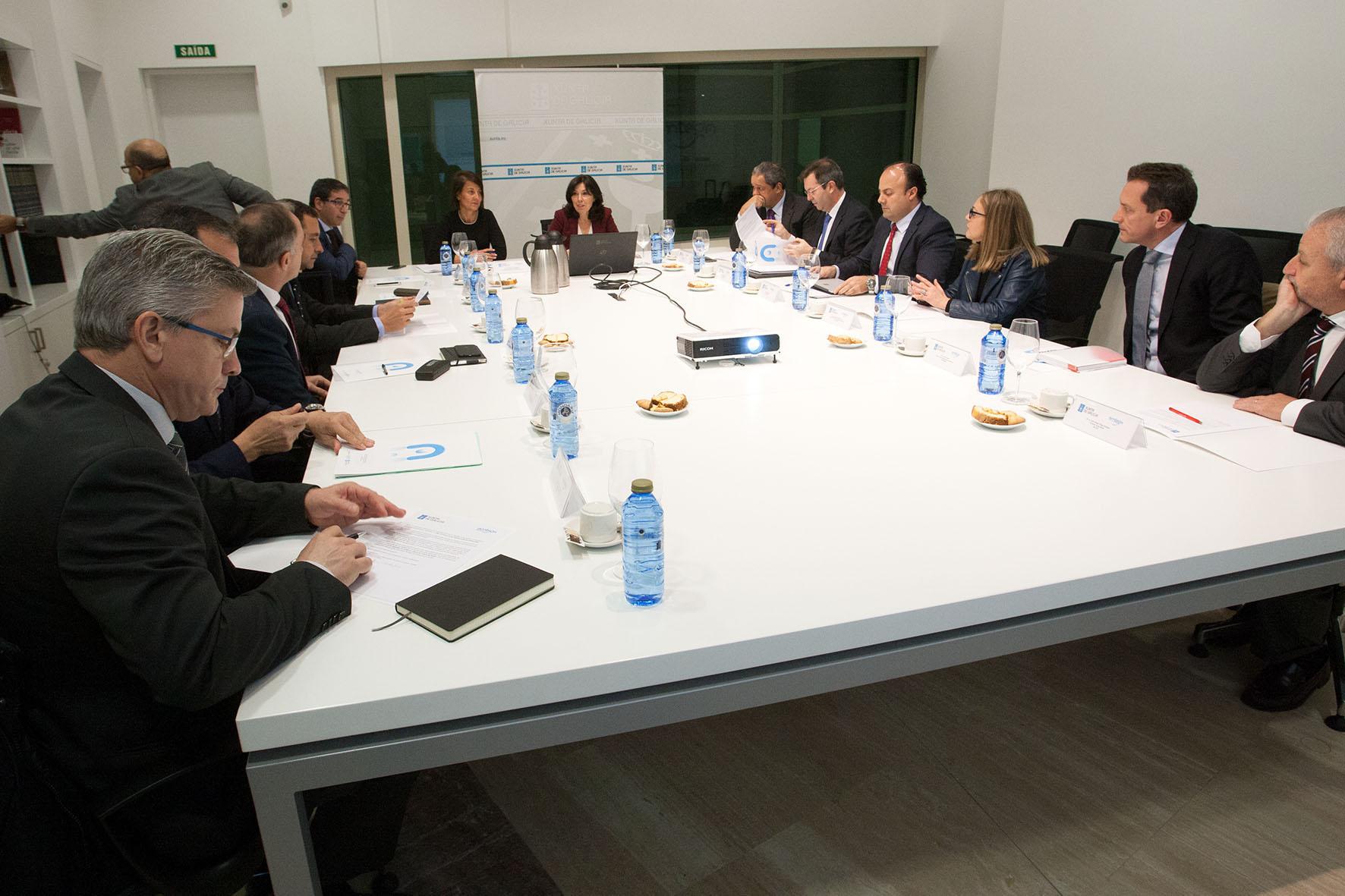 Reunión del pacto tecnológico.