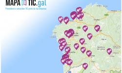 Mapa de Capacidades Tecnológicas de Galicia.