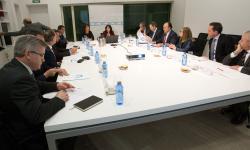 Reunión do pacto tecnolóxico.